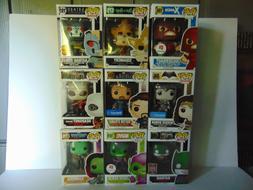 Funko Pop Damaged Box U-Pick Lot Disney Marvel DC Comics Mov