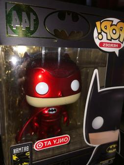 Funko POP! DC Batman RED 80th Anniversary  SHIPS FAST