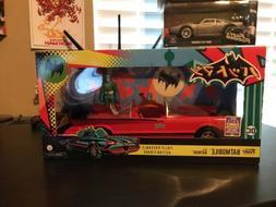 Funko Pop DC Comics '66 Batmobile And Adam West Batman SDCC
