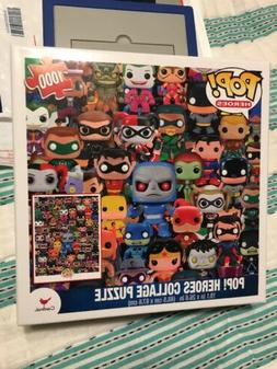Funko POP! DC Heroes 1000 Piece Puzzle 19x27 Inch Sealed Box