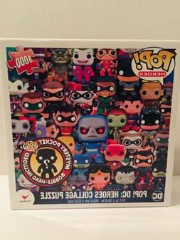 Funko POP! DC heroes 1000pc Collage Puzzle w/ Harley Quinn M