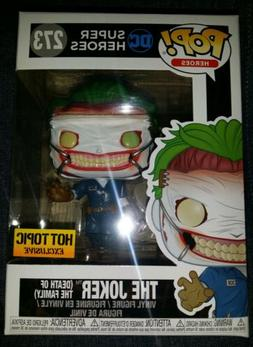FUNKO POP! DC THE JOKER Death of the Family Hot Topic Exclus