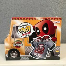 Funko Pop Deadpool T Shirt Funko Deadpool Chimichanga Food T