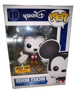 Funko Pop Disney #01 Mickey Mouse Hot Topic Exclusive - Diam