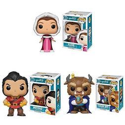 Pop! Disney: Beauty & The Beast Belle and Beast, Gaston! Set