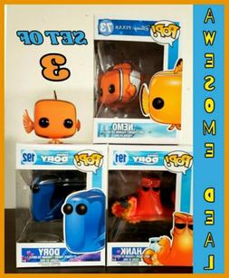 Funko Pop! Disney Finding Nemo & Finding Dory  NEMO,DORY & H