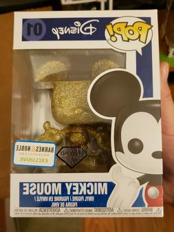 Funko Pop Disney Mickey Mouse 01 diamond barnes & noble excl
