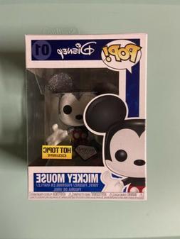 Funko Pop Disney MICKEY MOUSE #01 Hot Topic Exclusive-Diamon