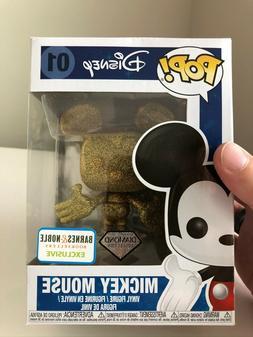 Funko Pop! Disney Mickey Mouse Diamond Collection #01 BARNES
