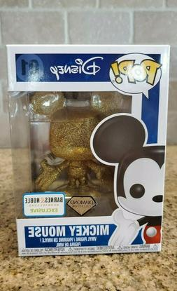 Funko Pop! Disney Mickey Mouse Diamond Collection 01 BARNES