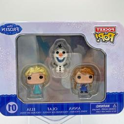 Funko Pop Disney Pocket Pop Collectors Tin Frozen Mini figur