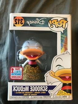 Funko Pop Disney Scrooge McDuck #312 + pop protector Ducktal