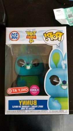 Funko Pop Disney Toy Story 4 #532 FLOCKED BUNNY Target Exclu