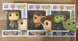 Funko Pop! Disney: Toy Story 4 - Woody, Buzz And Alien Vinyl