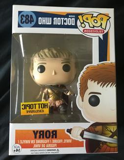 Funko Pop Doctor Who Rory #483 Hot Topic Exclusive + pop pro