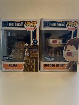 Funko POP Doctor Who Tenth Doctor & Dalex