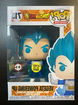 Funko Pop Dragon Ball Super : Chalice : GITD Vegeta Powering