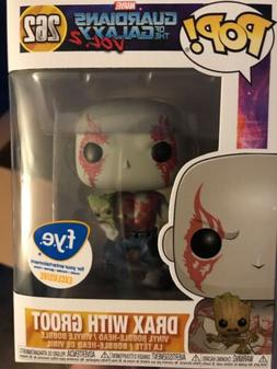 Funko Pop! Drax with Baby Groot Guardians of the Galaxy Vol