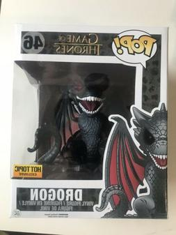 Funko POP! Drogon #46 Game of Thrones Dragon Red Eyes Hot To