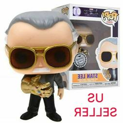 Funko Pop Endgame Exclusive: Stan Lee w/ Infinity Gauntlet