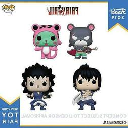 Funko Pop Fairy Tail 4 Pop Bundle Panther Lily, Zeref Dragne