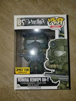 FUNKO POP! FALLOUT 4 T-60 POWER ARMOR #78 hot topic exclusiv