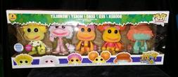 FUNKO POP! FRAGGLE ROCK 5 PACK FLOCKED FUNKO-SHOP EXCLUSIVE