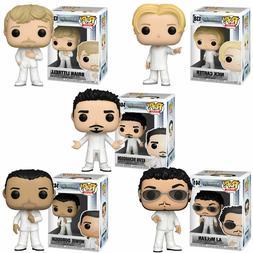 Funko Pop Full Set of 5, Backstreet Boys, AJ Brian Howie Kev