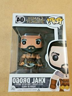 FUNKO POP! GAME OF THRONES #04 KHAL DROGO EDITION ONE NEW