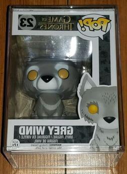 Funko Pop Game of Thrones #23 Grey Wind Direwolf Vaulted + P
