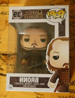 Funko Pop! Game of Thrones #39 Bronn Vaulted Retired New