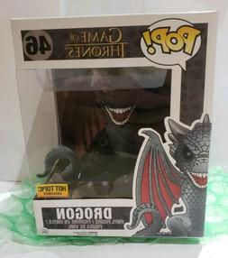 "Funko POP Game of Thrones 6"" DROGON RED EYES Dragon Hot To"