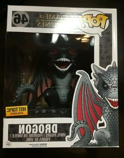 "Funko Pop! Game of Thrones 6"" Red Eyes Drogon #46! Hot Topic"