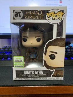 Funko Pop Game of Thrones #76 Arya Stark ECCC Shared Exclusi