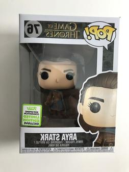 Funko Pop! Game Of Thrones #76 Arya Stark ECCC 2019 Exclusiv