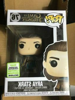 Funko Pop! Game of Thrones #76 Arya Stark ECCC 2019 Shared E