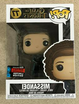 Funko Pop! Game of Thrones #77 Missandei NYCC 2019 Fall Conv