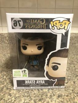 Funko Pop! Game Of Thrones Arya Stark #76 2019 ECCC Conventi