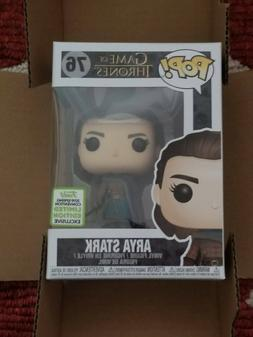 Funko Pop! Game of Thrones Arya Stark Assassin #76 Shared Ex