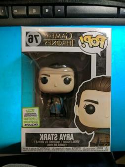 Funko Pop! Game of Thrones Arya Stark Assassin #76 2019 Mint