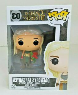 Funko POP Game of Thrones DAENERYS TARGARYEN # 03 Red Dragon