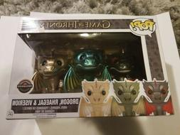 Funko Pop Game Of Thrones Dragon 3Pack Drogon Rhaegal Viseri