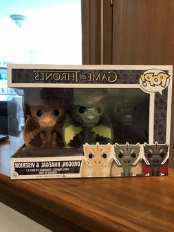 Funko Pop Game of Thrones Dragons Drogon, Rhaegal, Viserion