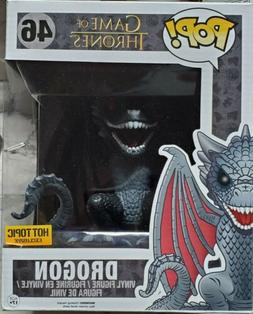 "FUNKO POP! GAME OF THRONES DROGON #46 6"" INCH HOT TOPIC EXCL"