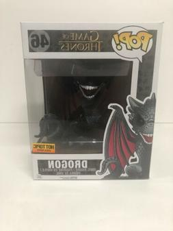 FUNKO Pop Game Of Thrones DROGON #46 Hot Topic / GOT / Drago