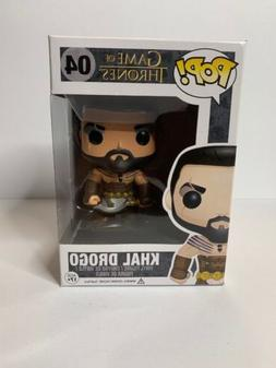 FUNKO POP GAME OF THRONES KHAL DROGO #04 AUTHENTIC VAULTED E