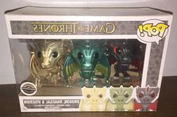 Funko POP! Game of Thrones Metallic Dragons Exclusive Drogon