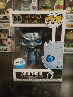 Funko Pop! Game of Thrones Metallic Night King #44 AT&T Excl