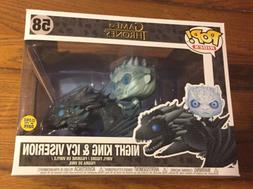 Funko POP Game of Thrones Night King Rides Icy Viserion Drag