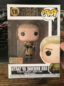 Funko Pop Game Of Thrones Ser Brienne of Tarth BoxLunch Excl